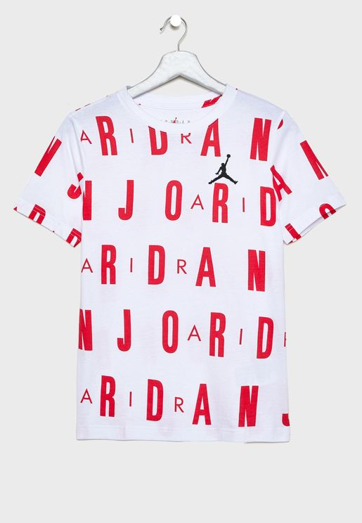 Youth Air Jordan AOP T-Shirt