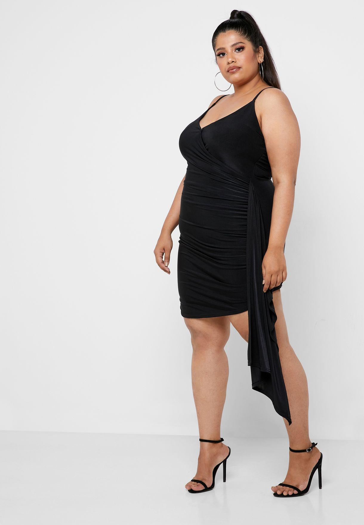 Asymmetric Cami Dress