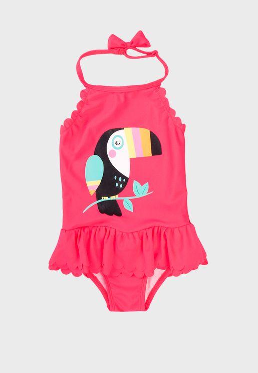 Kids Toucan Swimsuit