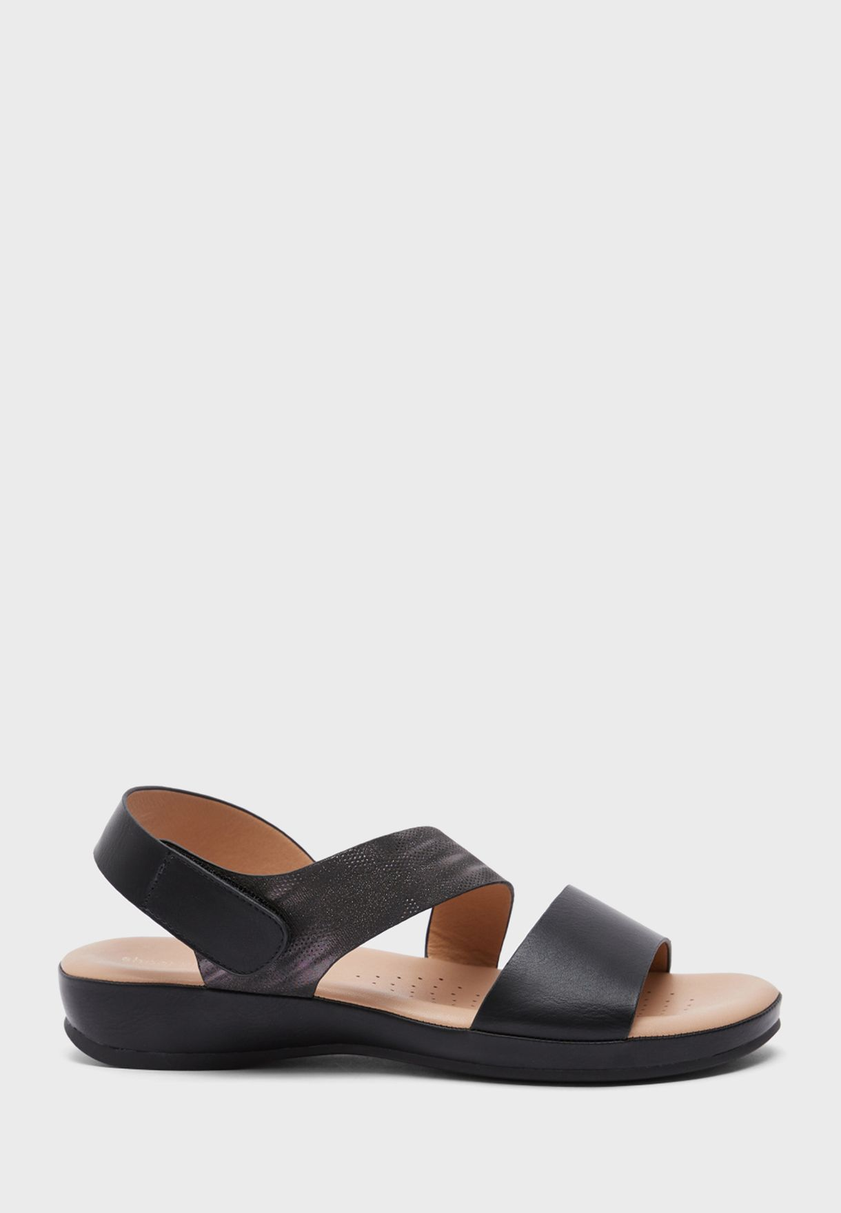 Casual Low Heel Sandal