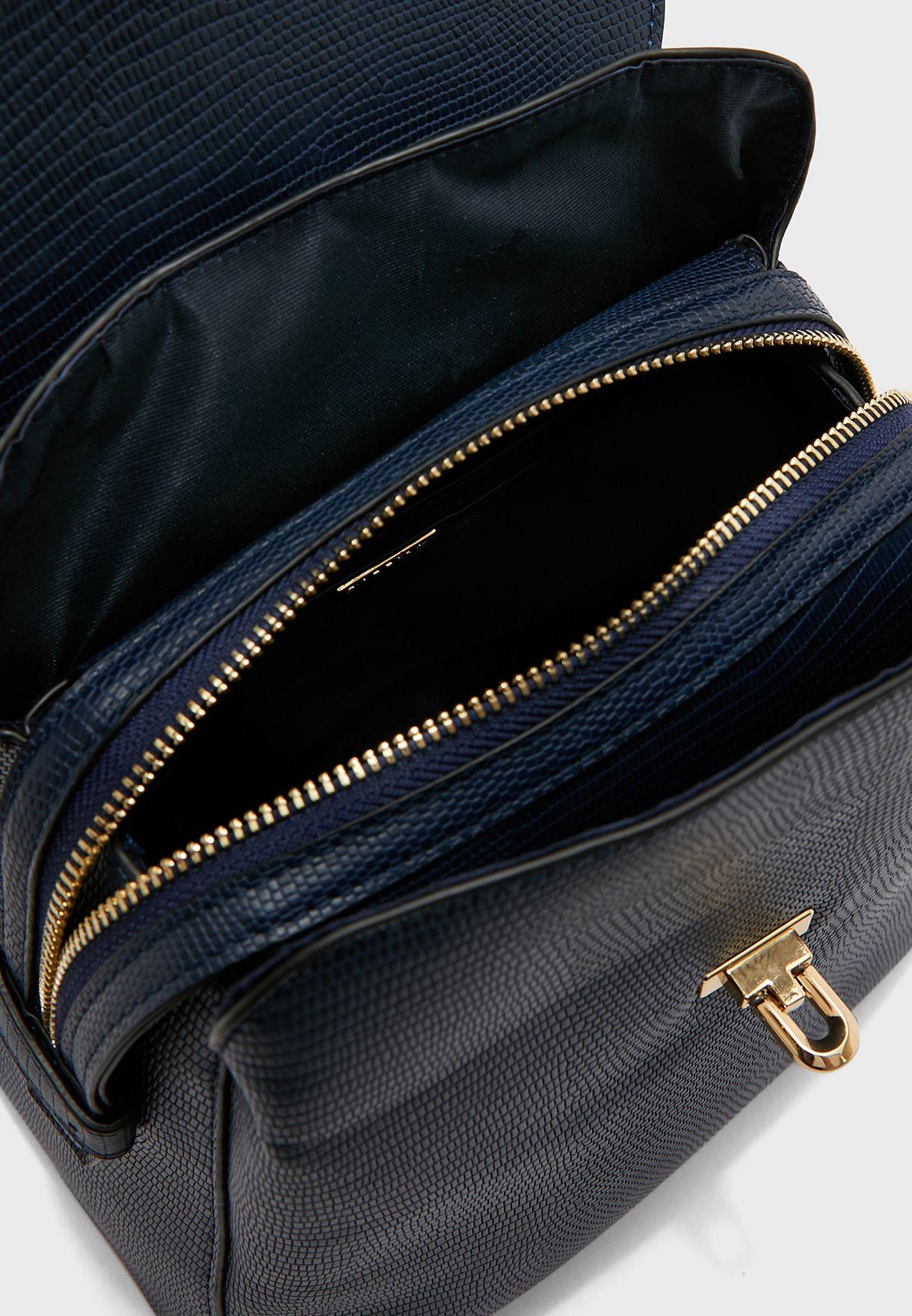 Flap Detail Backpack