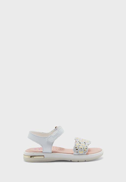 Kids Wide Strap Sandal