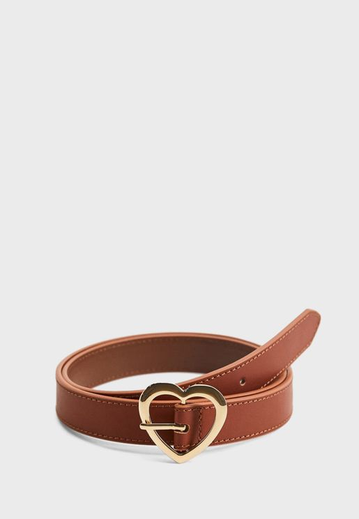 Kids Buckle Closure Belt