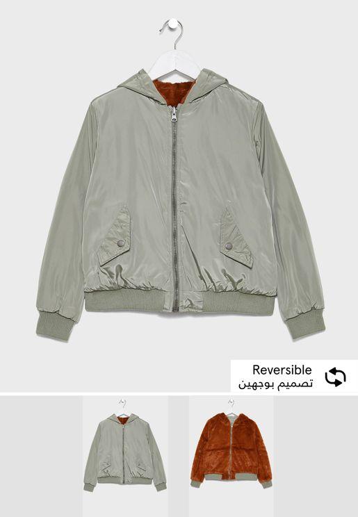Youth Reversible Bomber Jacket