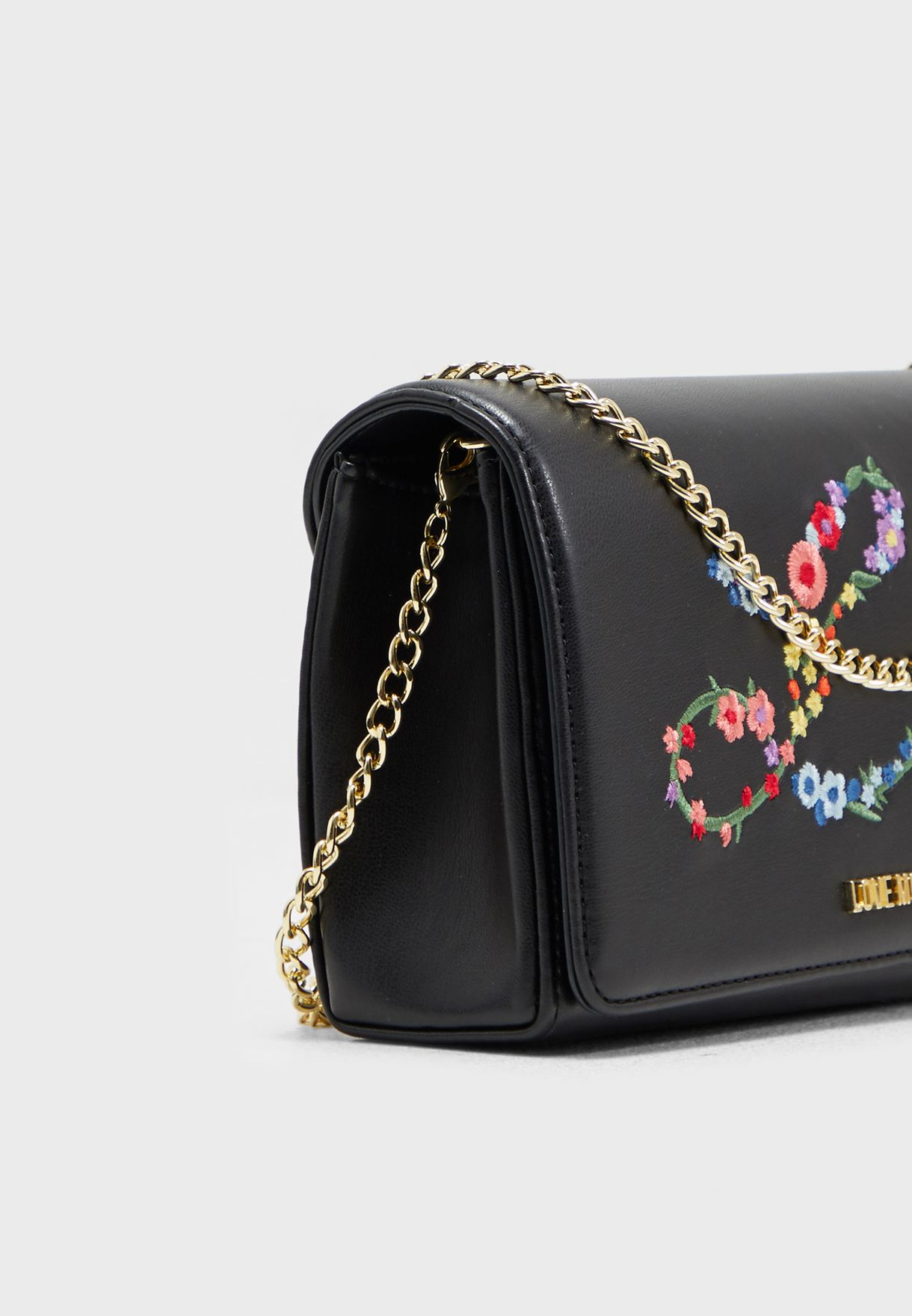 Love Embroidered Crossbody
