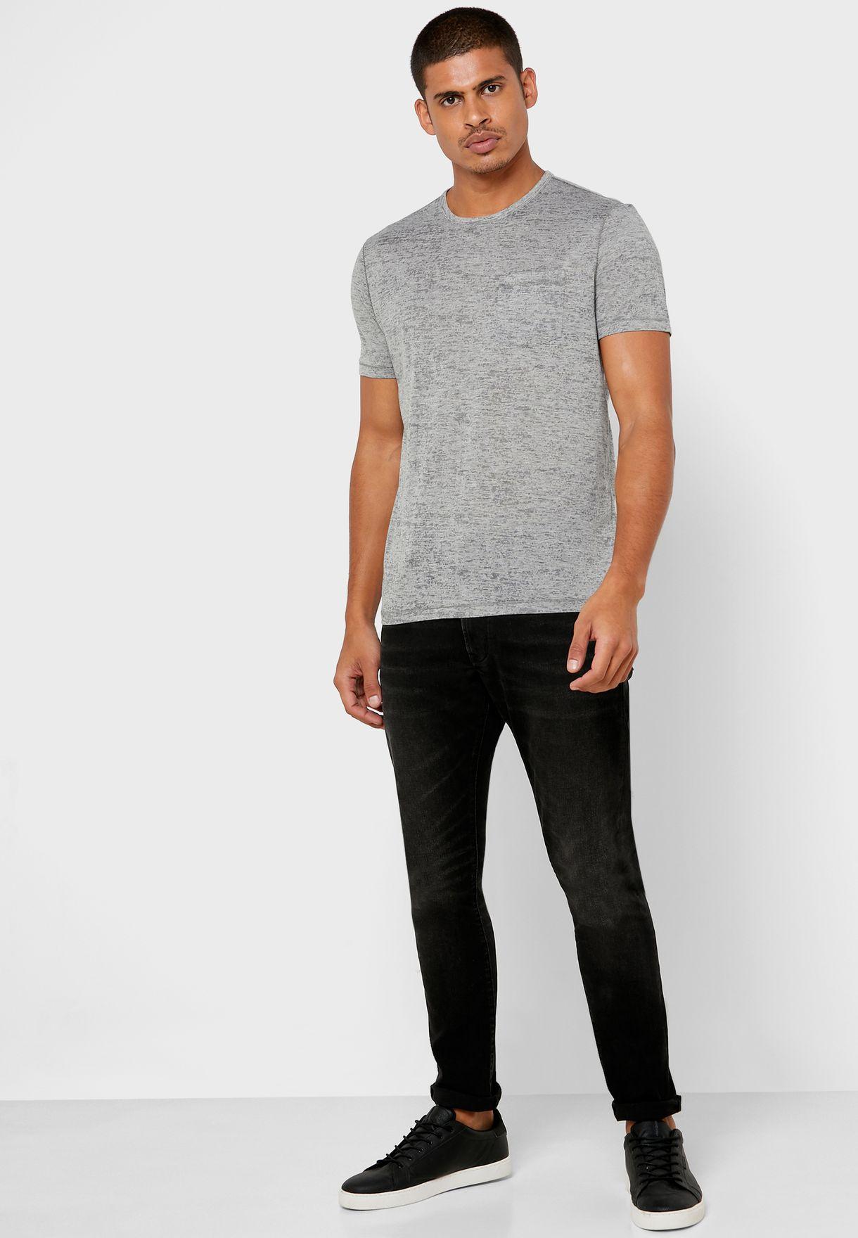 Burnout Crew Neck T-Shirt