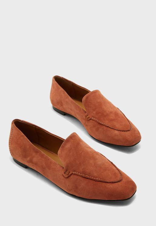 حذاء لوفر شمواه اصلي