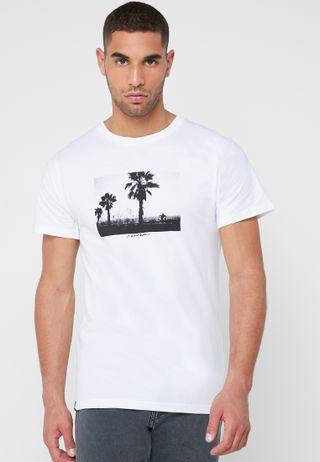169f3d1d4 Shop Topman white Jay Z And Biggie Smalls T-Shirt 71E18RWHT for Men ...