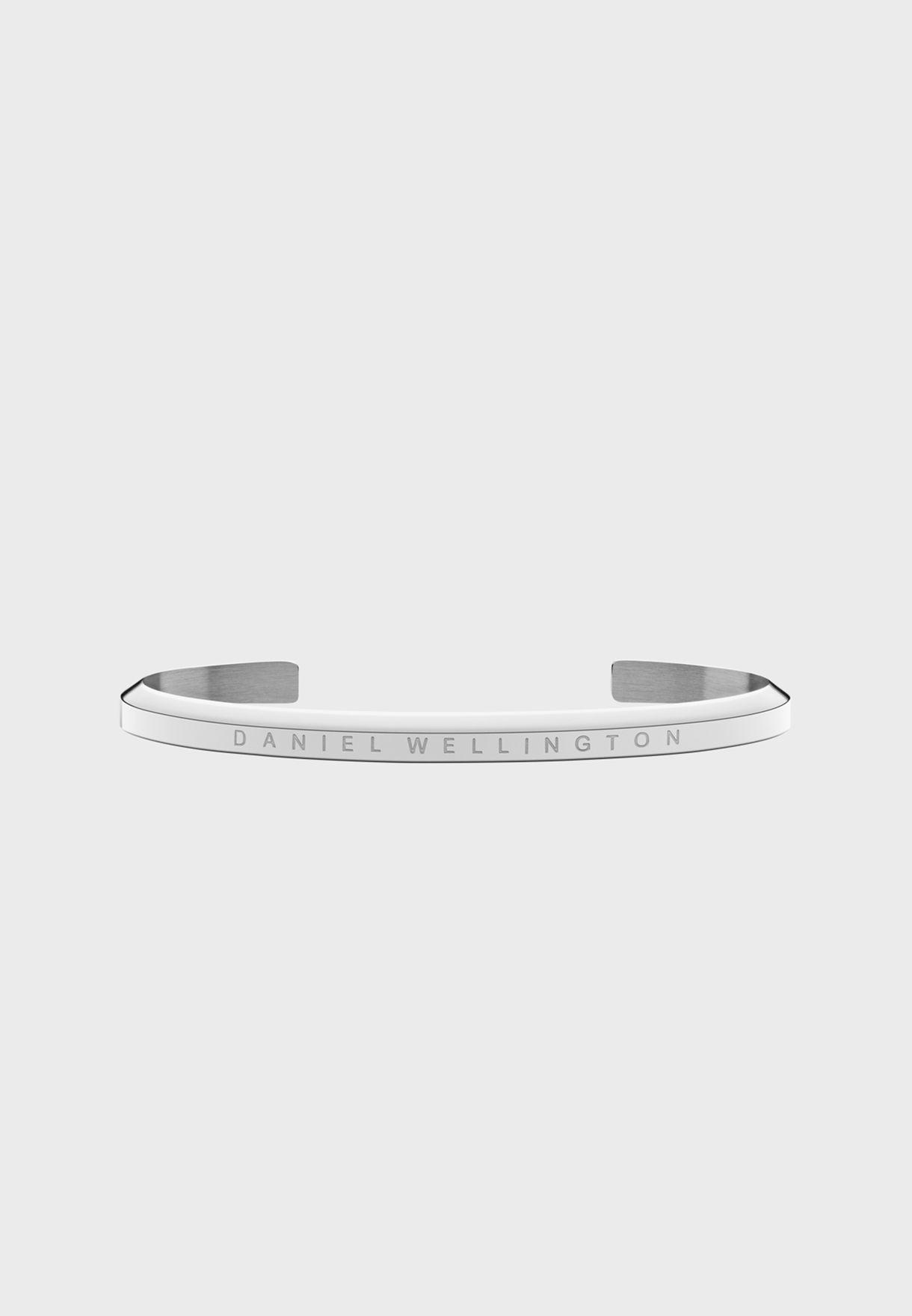 Iconic Link 36 S Green DW00100337 + Large Silver Bracelet DW00400002