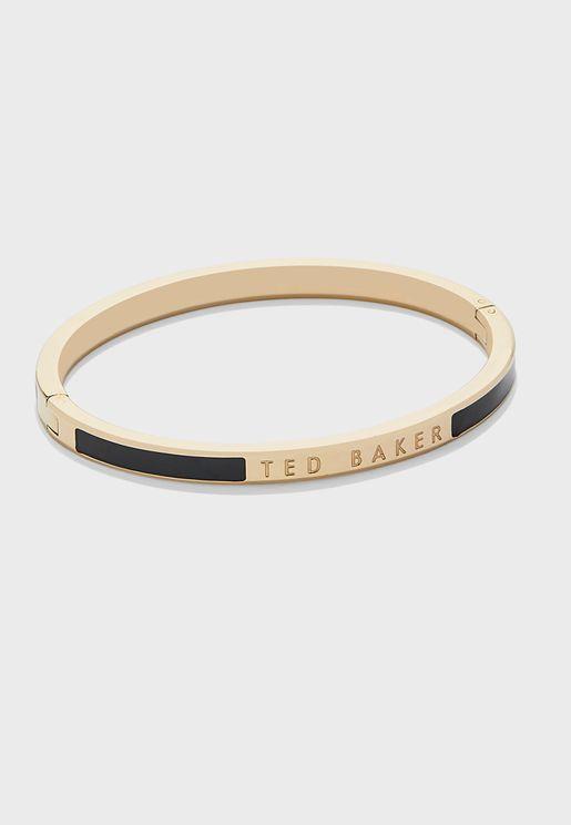 Elemara Enamel Hinge Bracelet