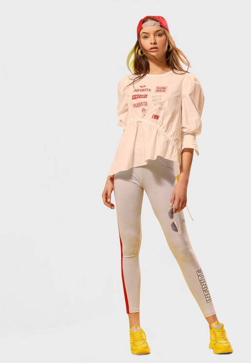 Side Striped Leggings