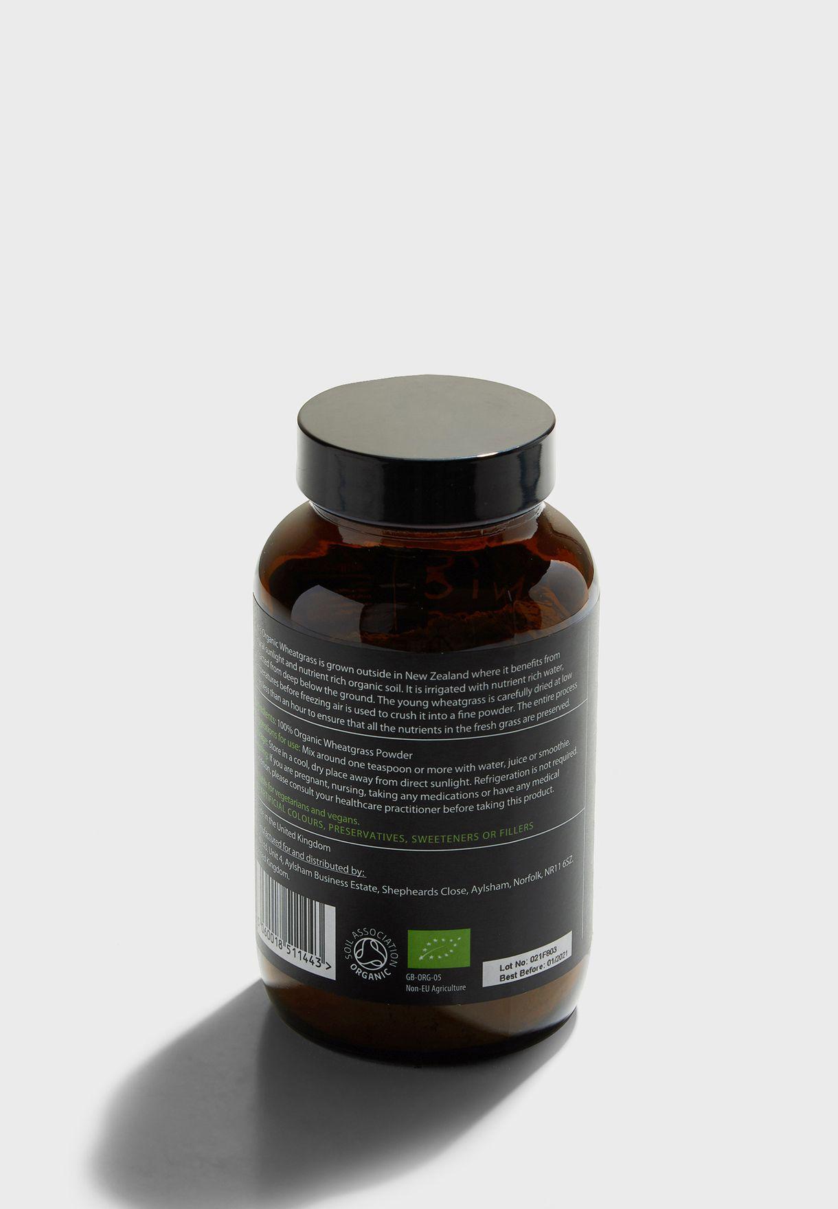 Organic Wheatgrass Powder - 100g
