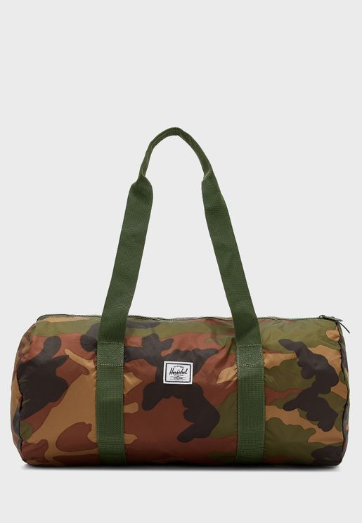 Camo Packable Duffle