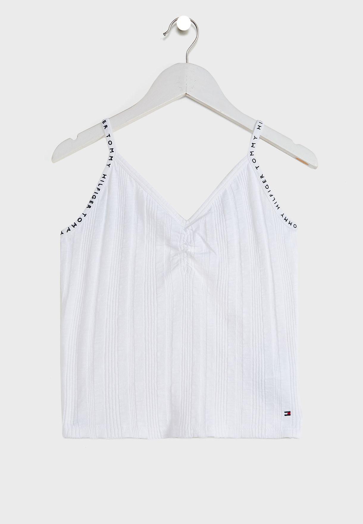 Teen Ribbed Knit Cami Top