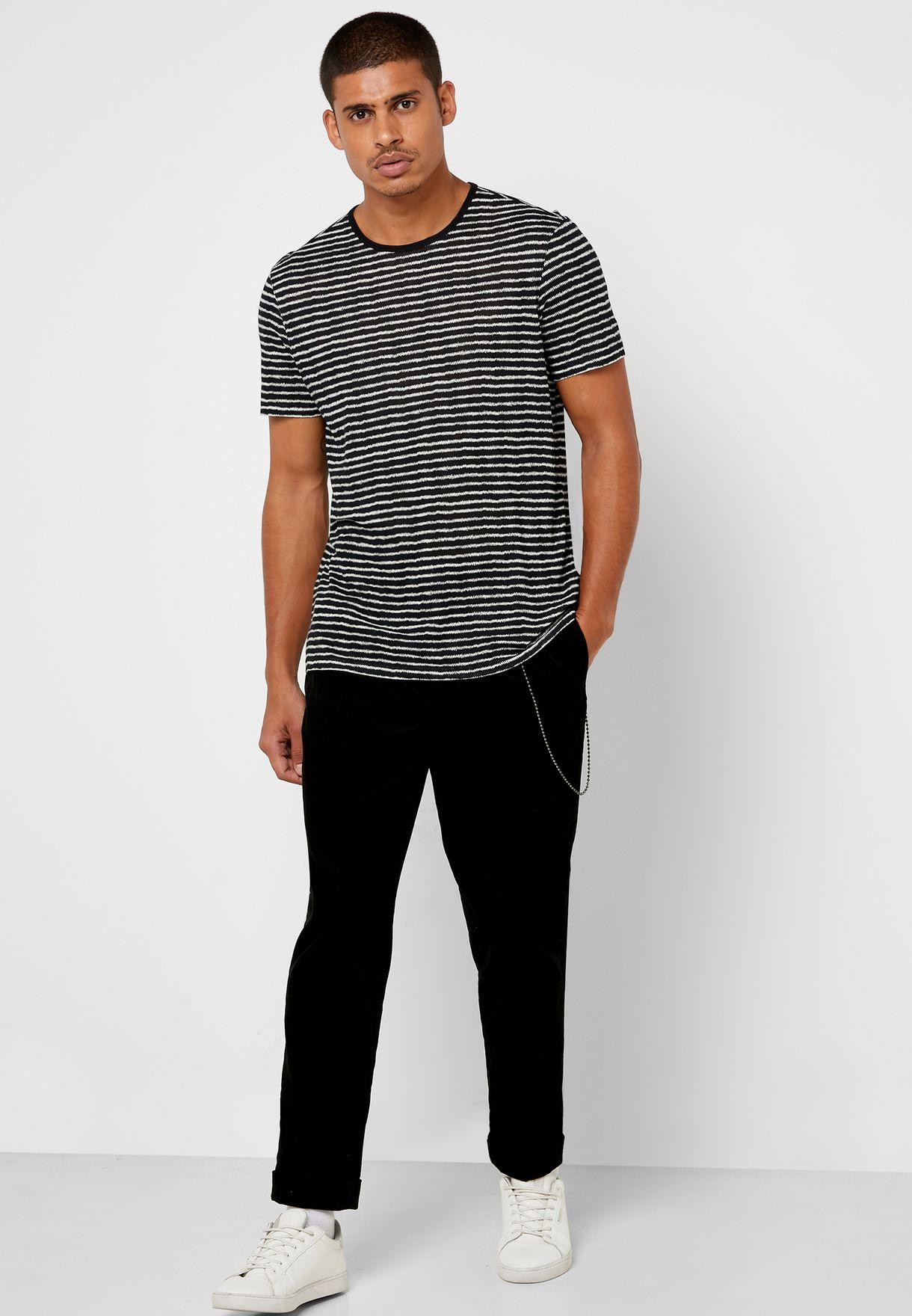 Adrian Zigzag Stripe T-Shirt