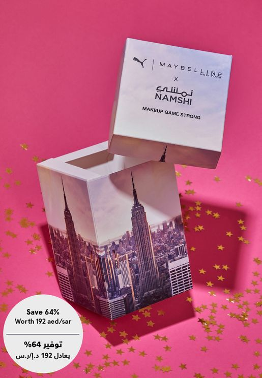 Maybelline X Puma Mystery Box Worth 192aed/sar