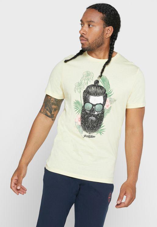 Ricky Regular Fit Crew Neck T-Shirt