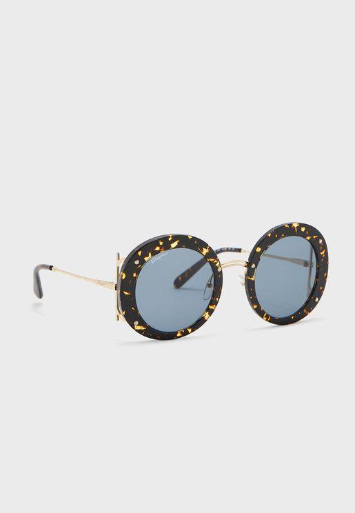Sf939S Round Sunglasses