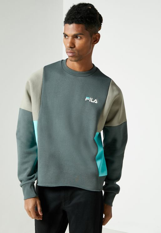 Alwyn Colour Block Sweatshirt
