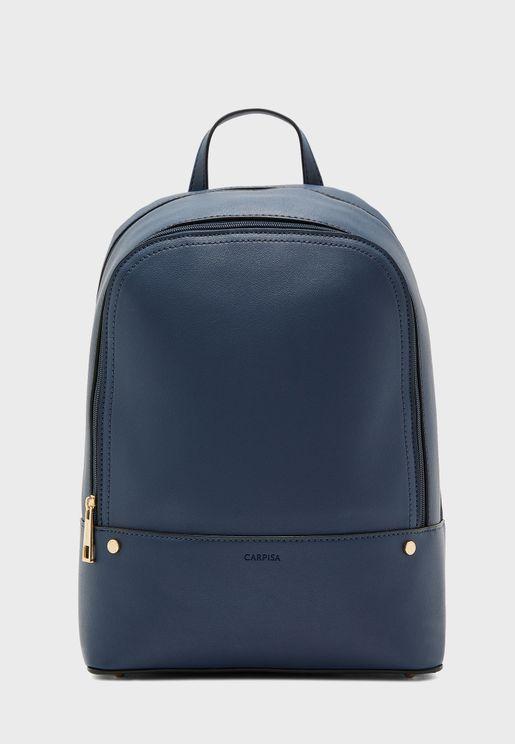 Top Zip Backpack