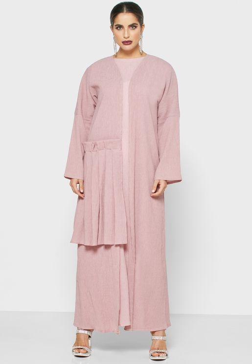 Pleat Detail Abaya