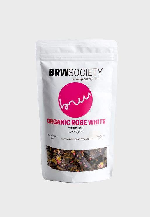Tea - Organic Rose White