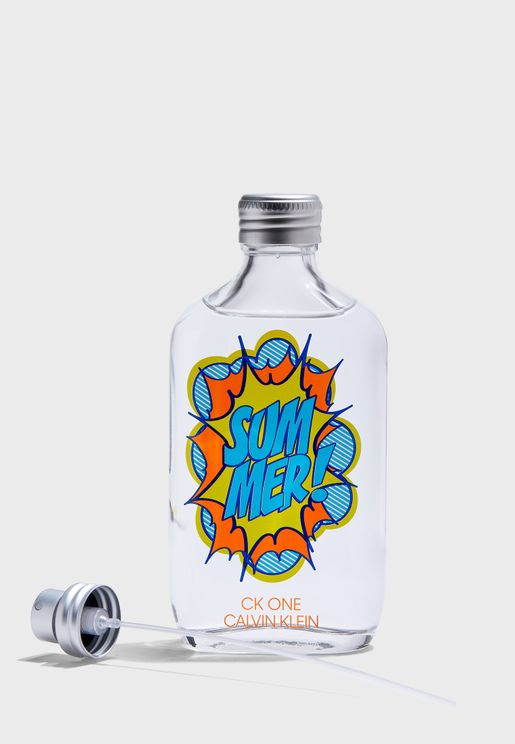 CK One Summer 2019- Limited Edition 100ml Edt