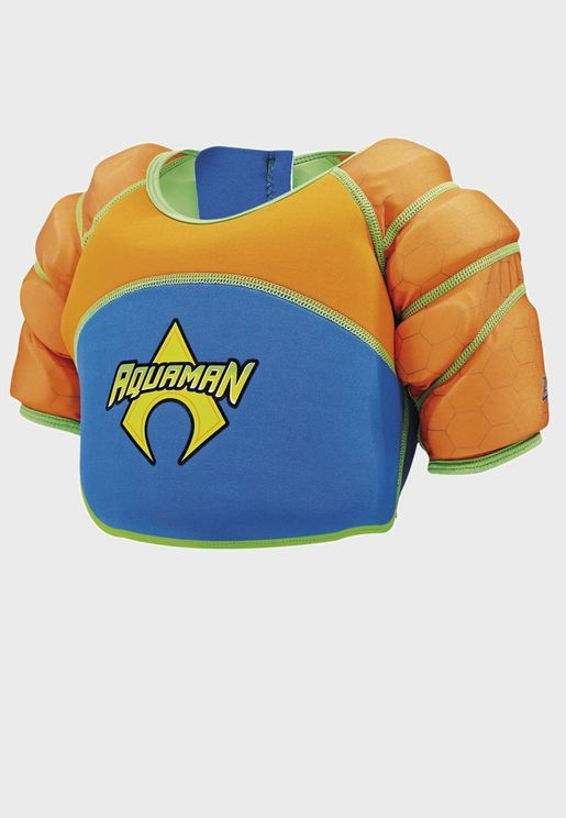Kids Aquaman Water Wings Vest