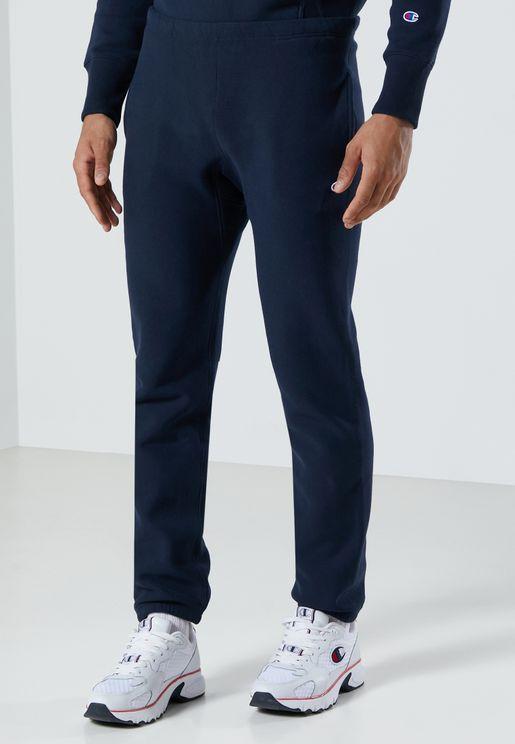 Reverse Weave Cuffed Sweatpants