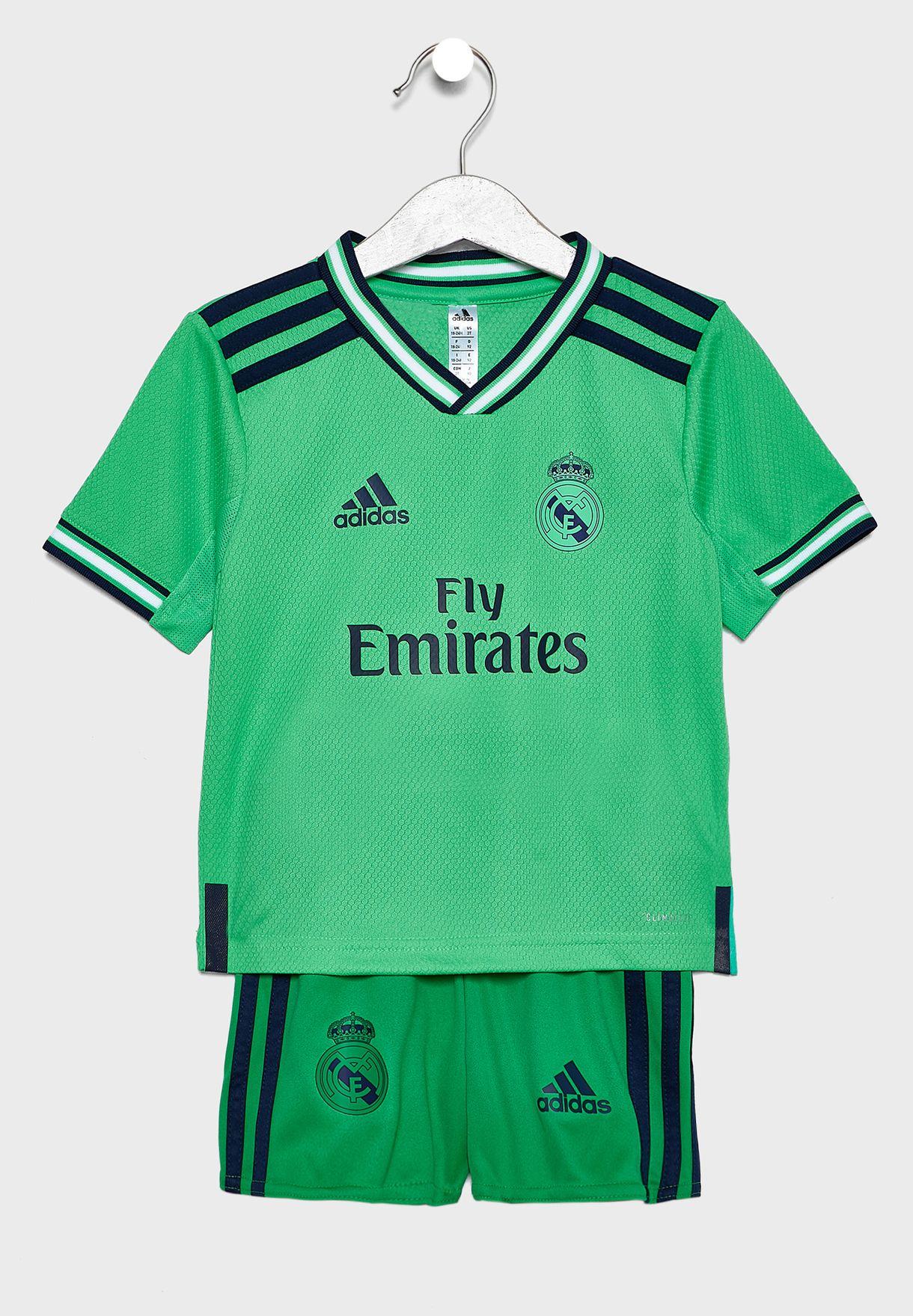 adidas Real Madrid Shorts Away 1920, für Kinder blau 176