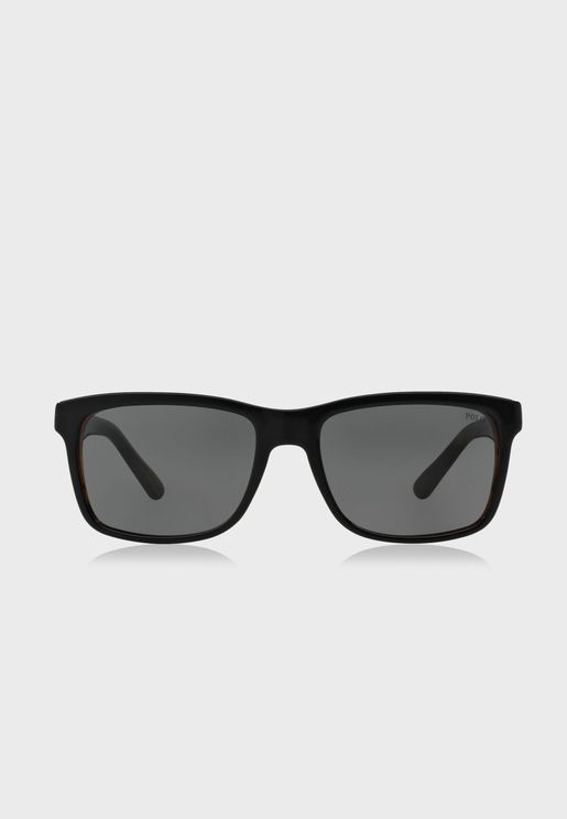 0PH4098 Wayfarer Sunglasses
