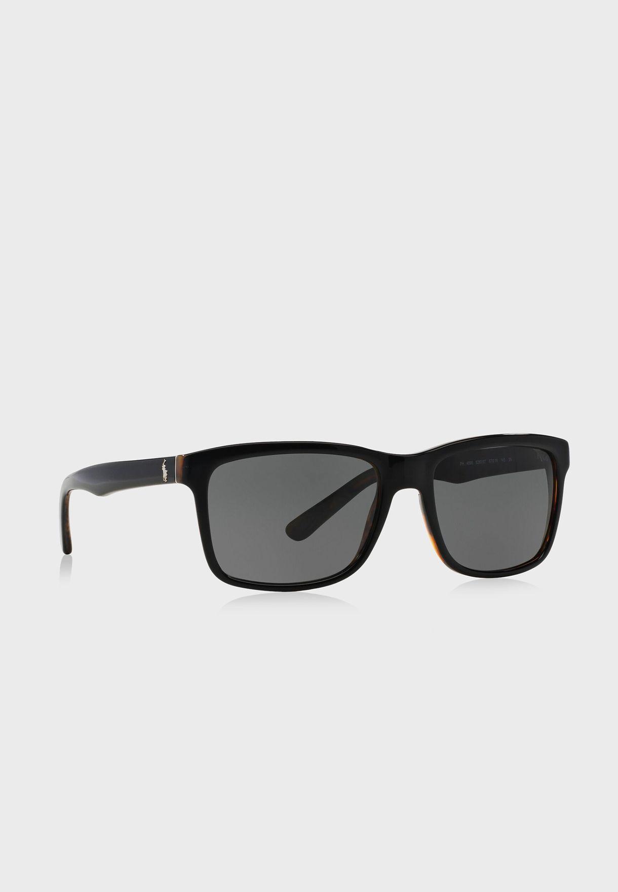 0PH4098 Wayfarer Sunglasses