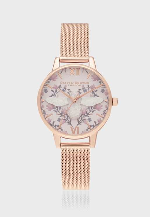 3D Bee Analog Watch