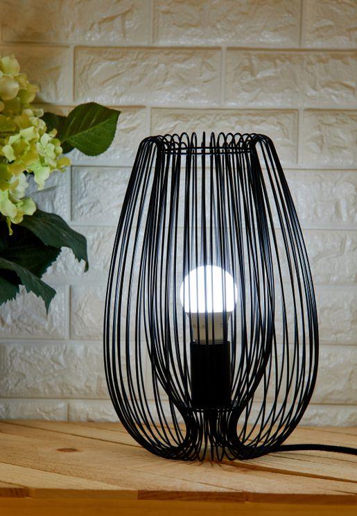 Iron Black Table Lamp Lucid