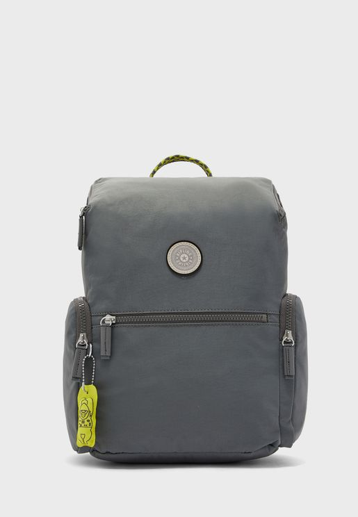 Piros Dark Carbon Backpack