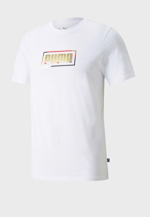 Graphic Metallic T-Shirt