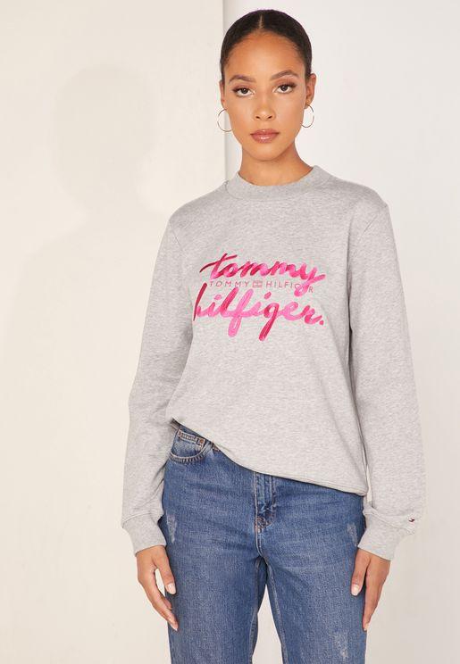 Romy  Logo Sweatshirt