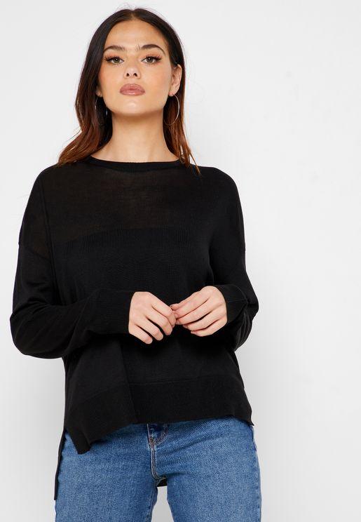 Semi Sheer Sweater
