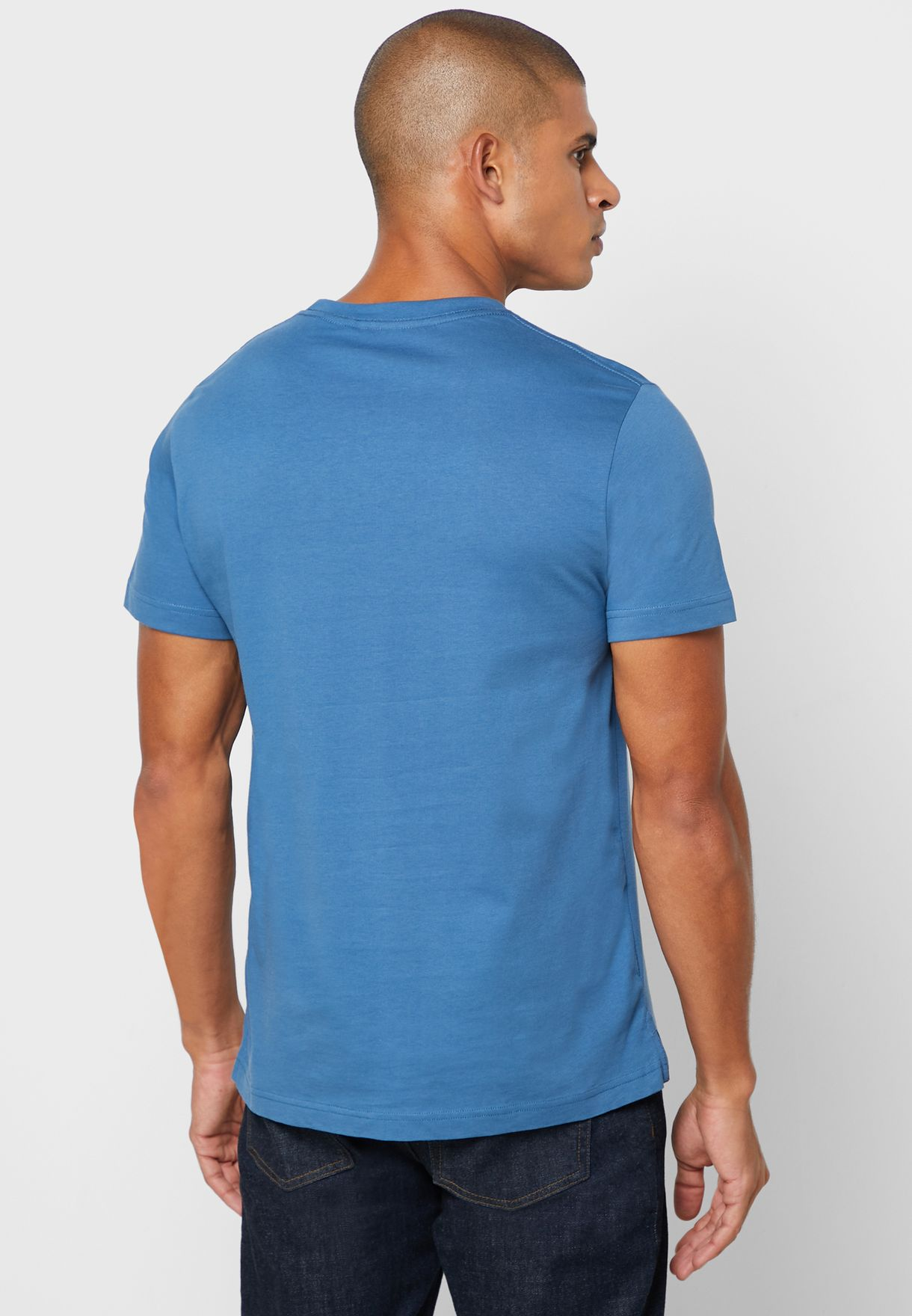 Superman Logo Crew Neck T-Shirt