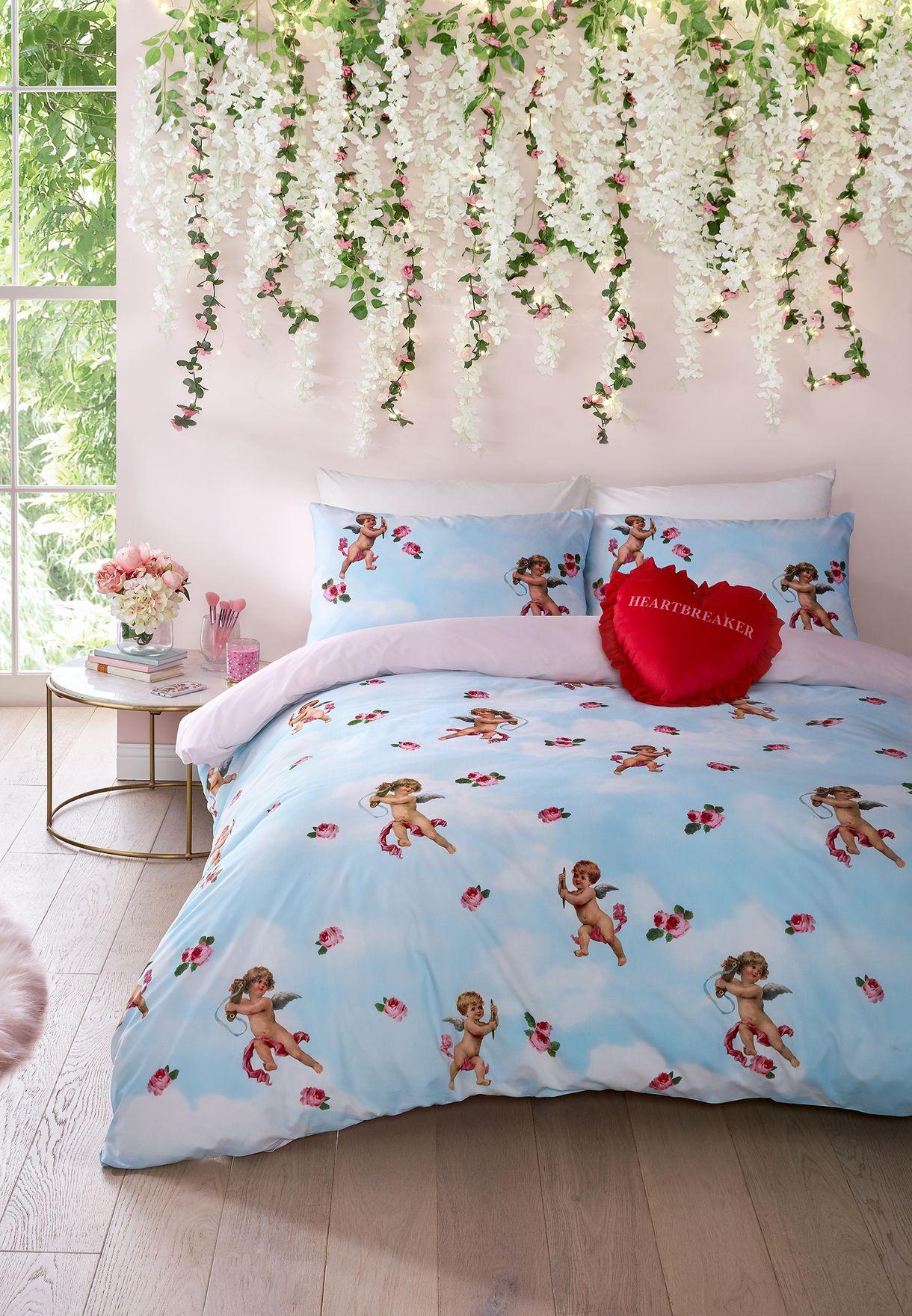 Cherub King Quilt Bedding Set 230 x 220cm