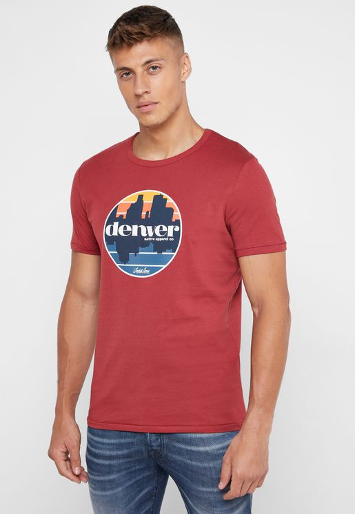 Denvers Crew Neck T-Shirt