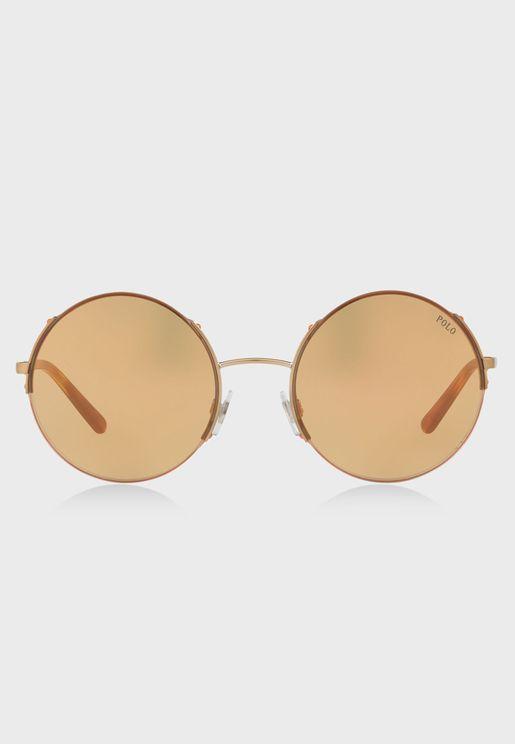 0PH3120 Round Sunglasses