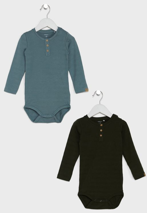 Kids Essential Bodysuit Set