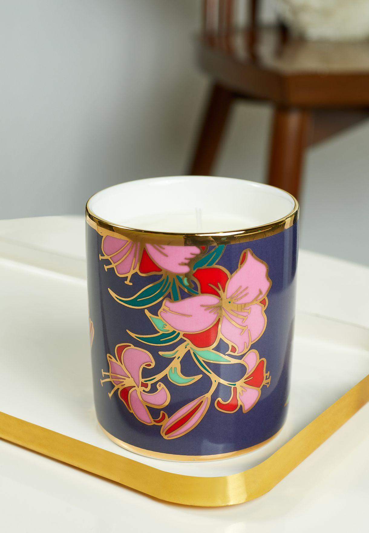 شمعة عطرية برائحة الروز وشانغريلا 200 مل
