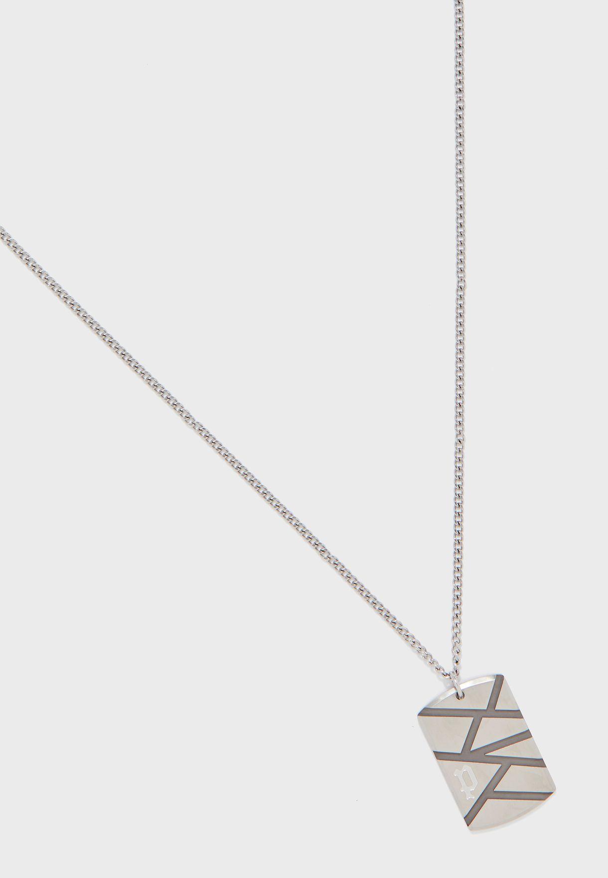 P PJ 26485PSB-02 Necklace