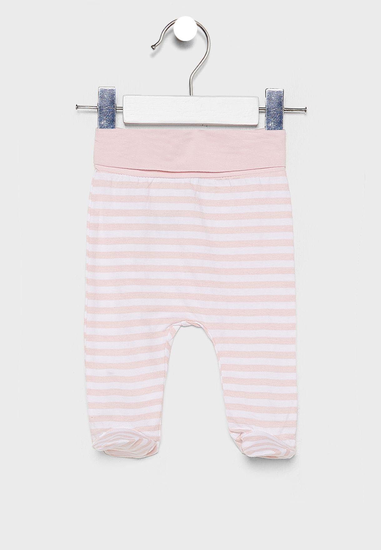 Infant Printed T-Shirt + Sweatpants Set