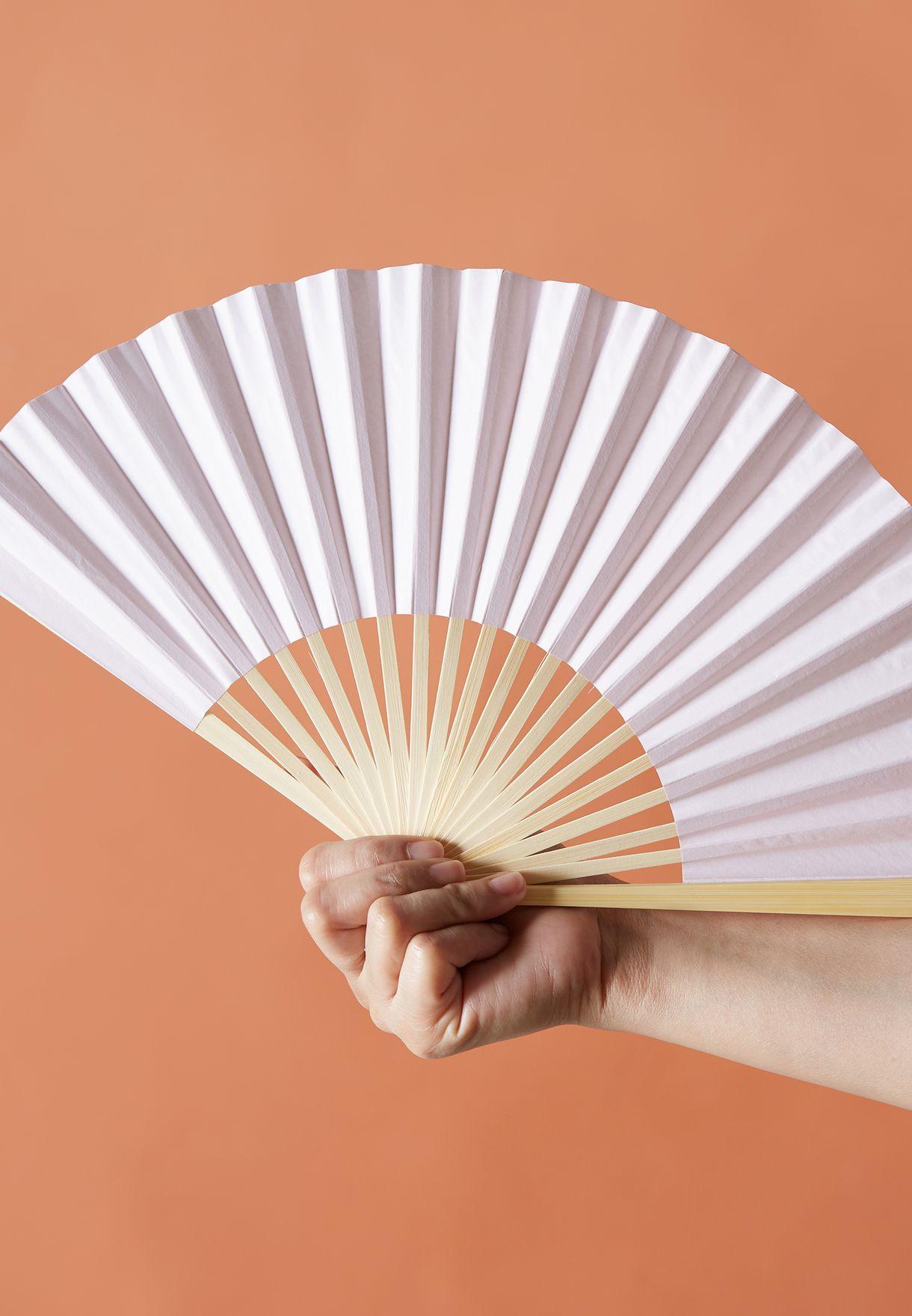 Pink Hand Fan