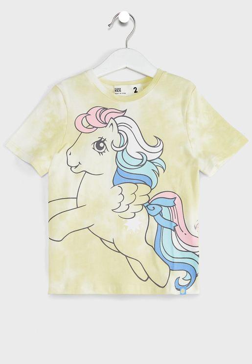 Kids Unicorn Tie Dye T-Shirt