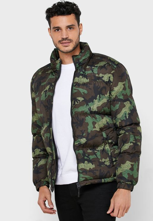 Padded Camo Jacket