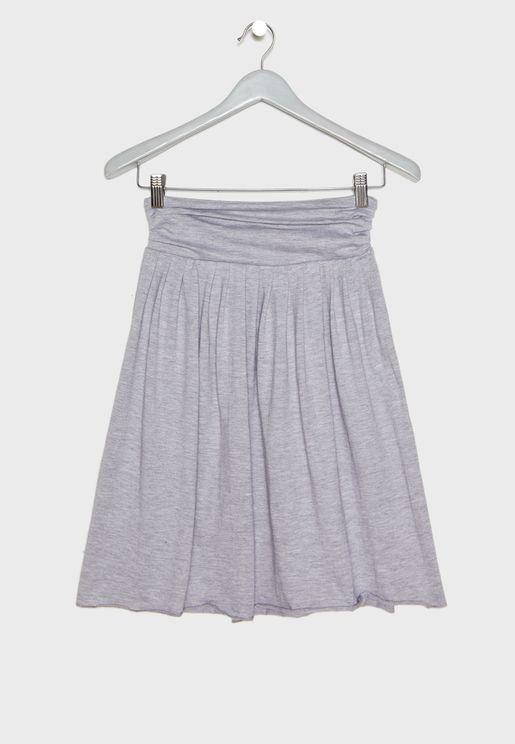 Kids Essential Midi Skirt